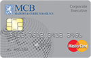 MCB MasterCard Corporate Executive Card